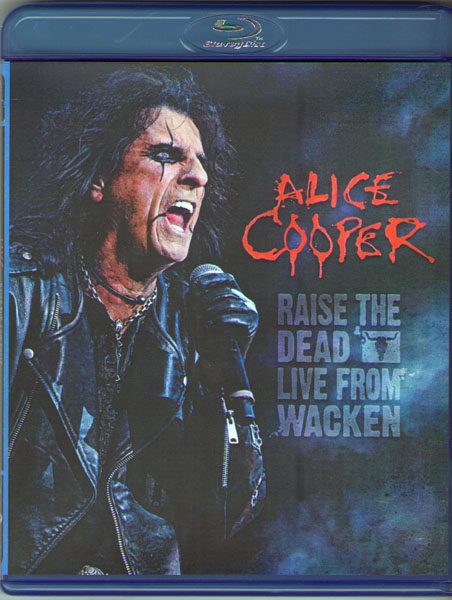 Alice Cooper Raise the Dead Live from Wacken (Blu-ray)